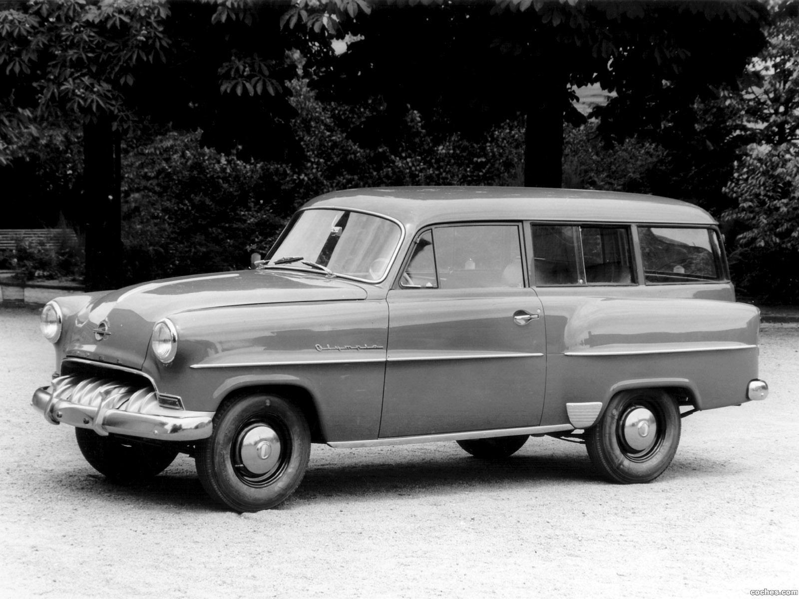 Foto 0 de Opel Olympia Caravan 1953