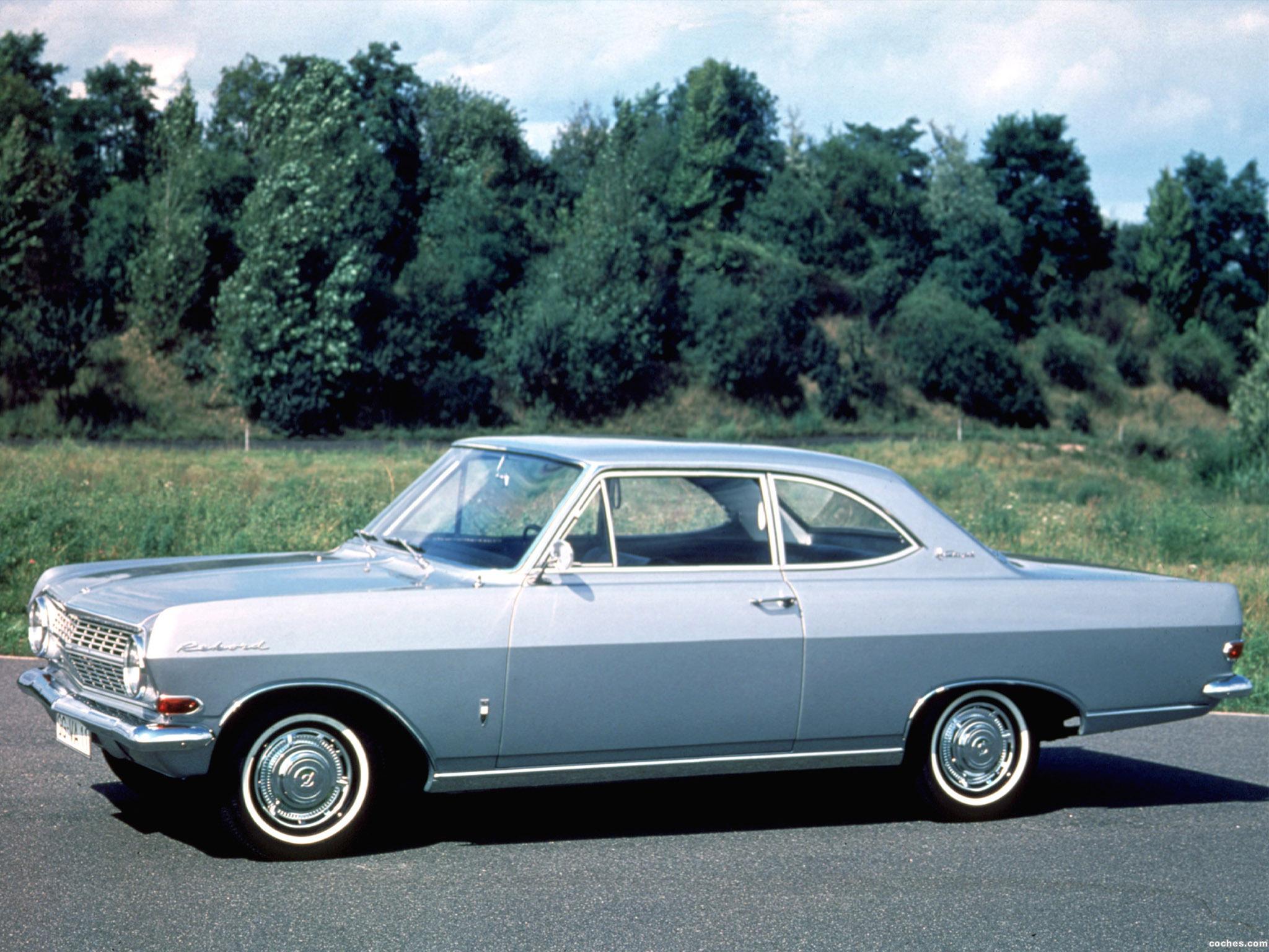 Foto 0 de Opel Rekord A 1963