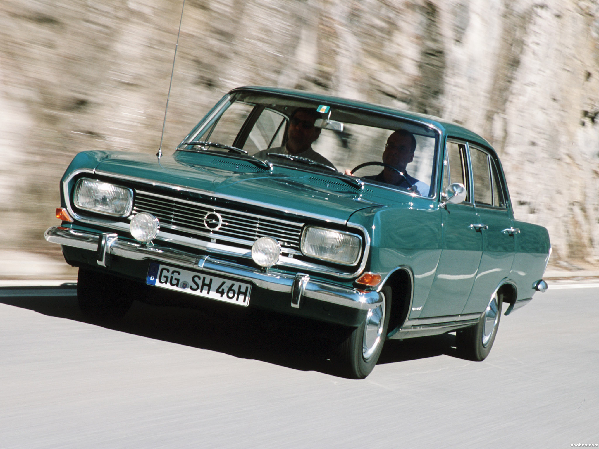 Foto 0 de Opel Rekord B Luxus 1965