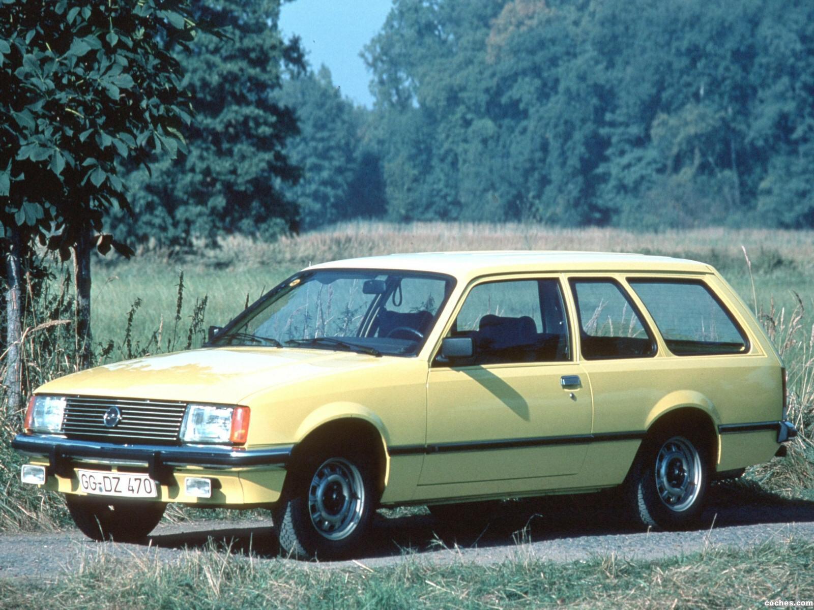 Foto 0 de Opel Rekord Caravan 3 puertas E1 1977