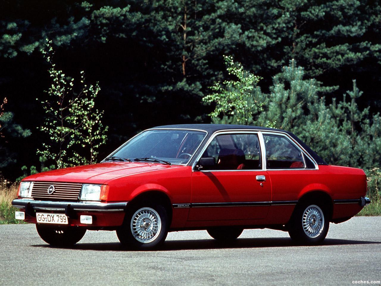 Foto 0 de Opel Rekord Coupe E1 1977