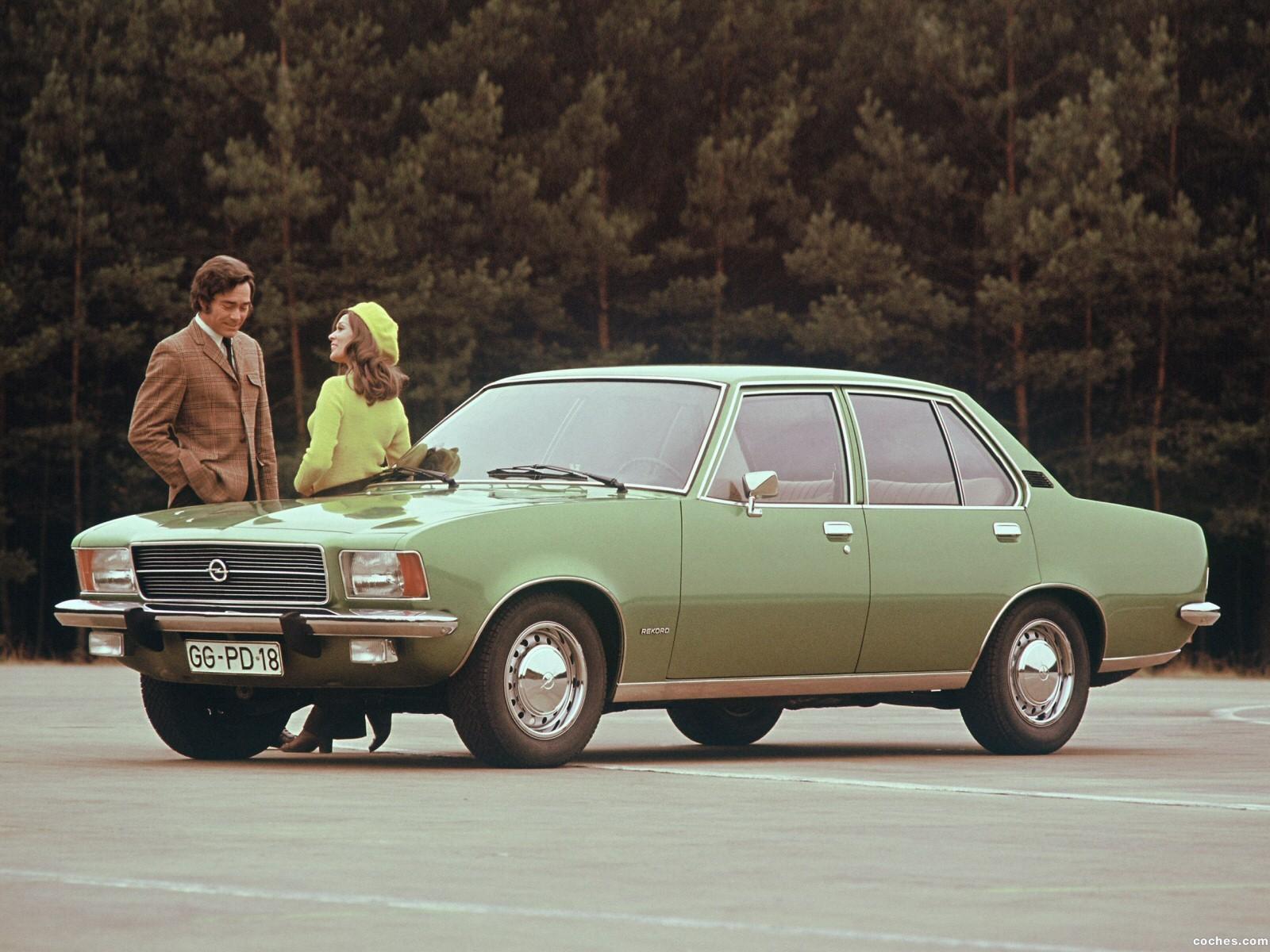 Foto 0 de Opel Rekord D 1972