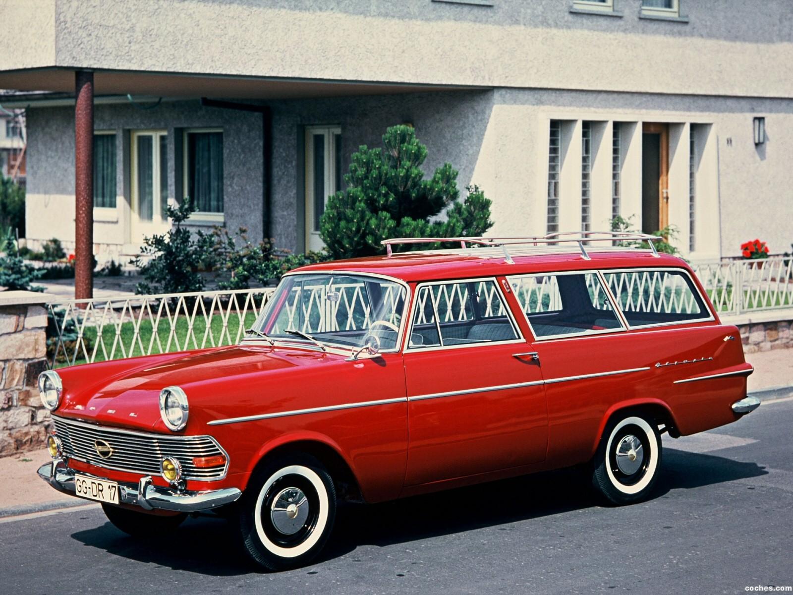 Foto 0 de Opel Rekord P2 1960