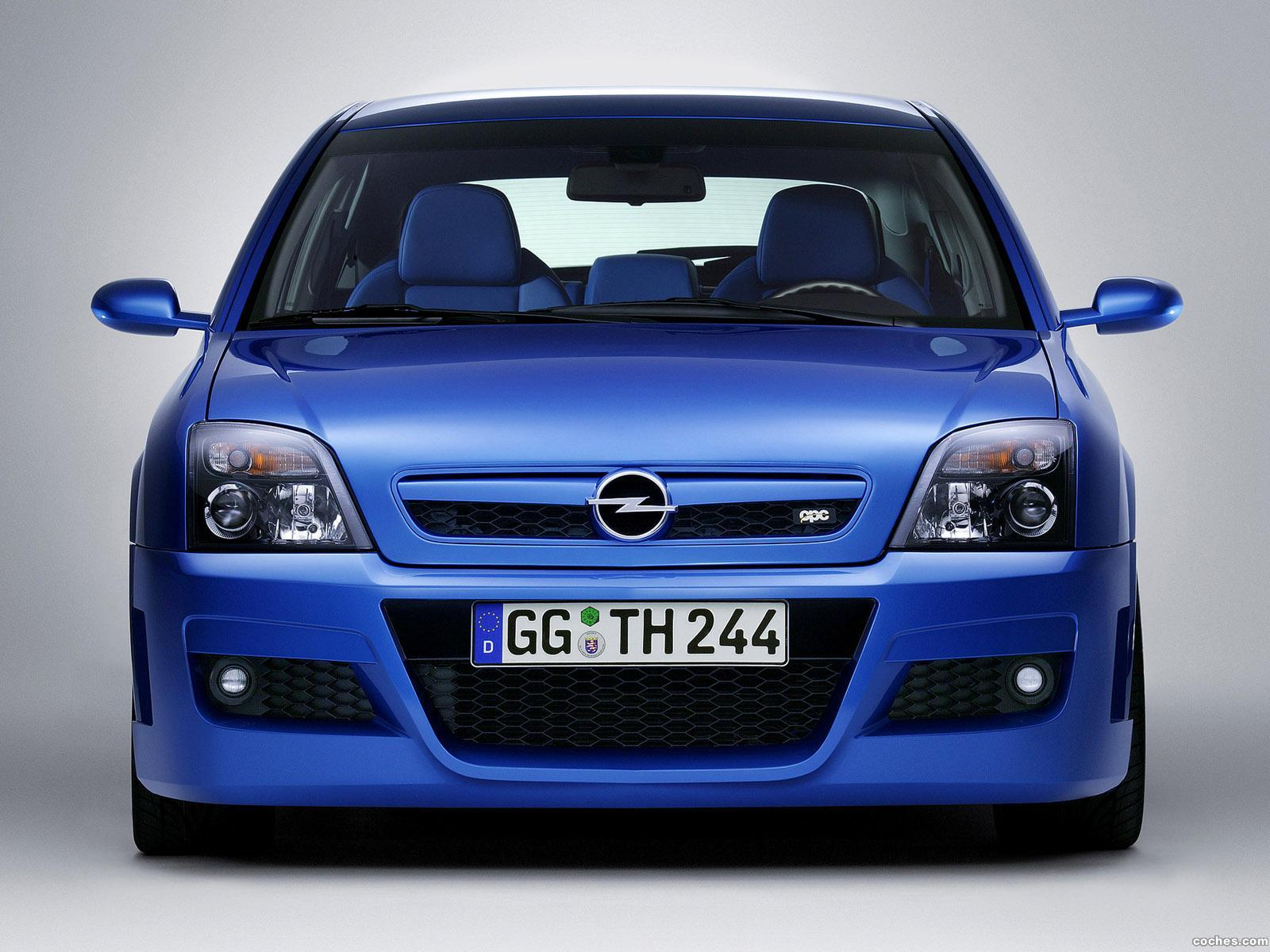 Foto 0 de Opel Vectra GTS Twin Turbo OPC 2003