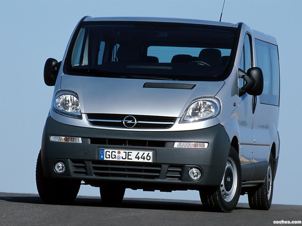 Foto 0 de Opel Vivaro 2001