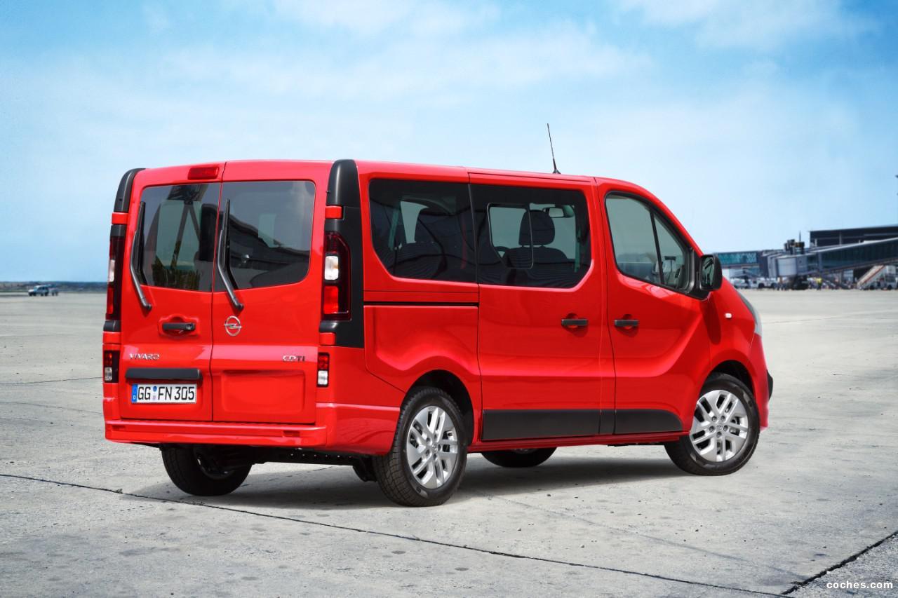 Foto 1 de Opel Vivaro Combi 2014