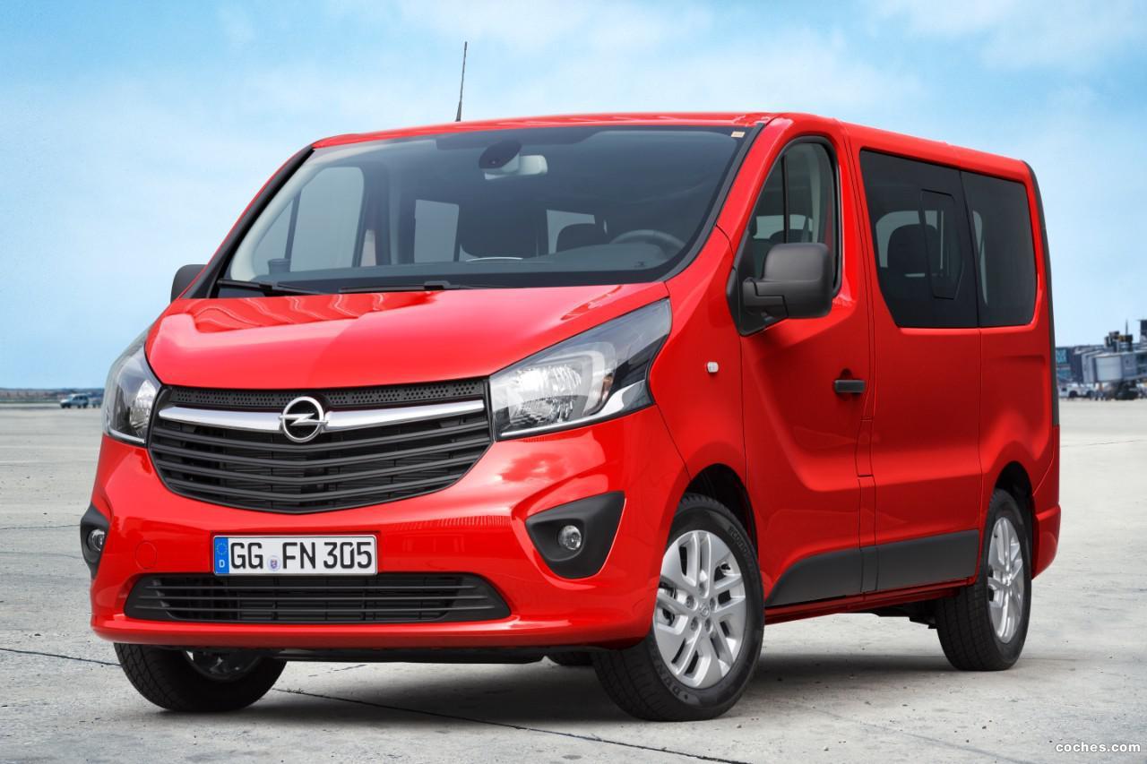 Foto 0 de Opel Vivaro Combi 2014