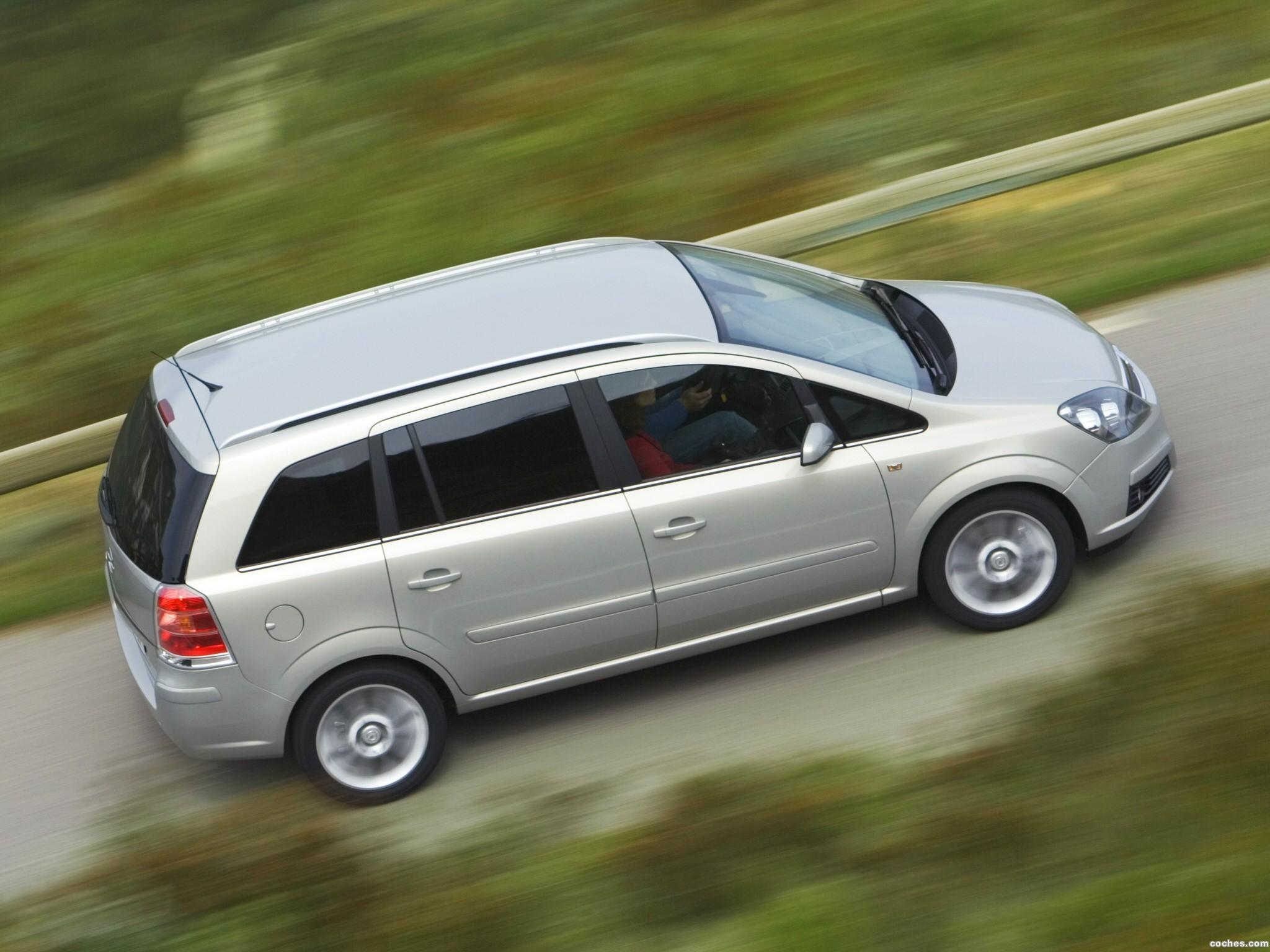 Foto 10 de Opel Zafira 2005