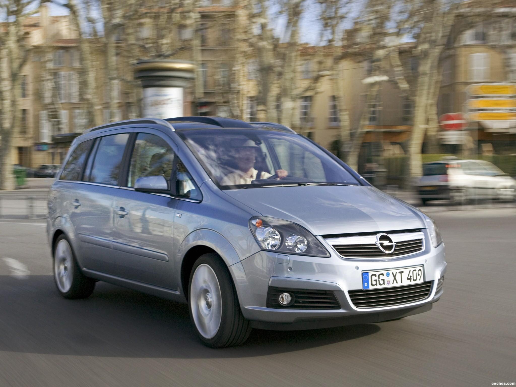 Foto 38 de Opel Zafira 2005