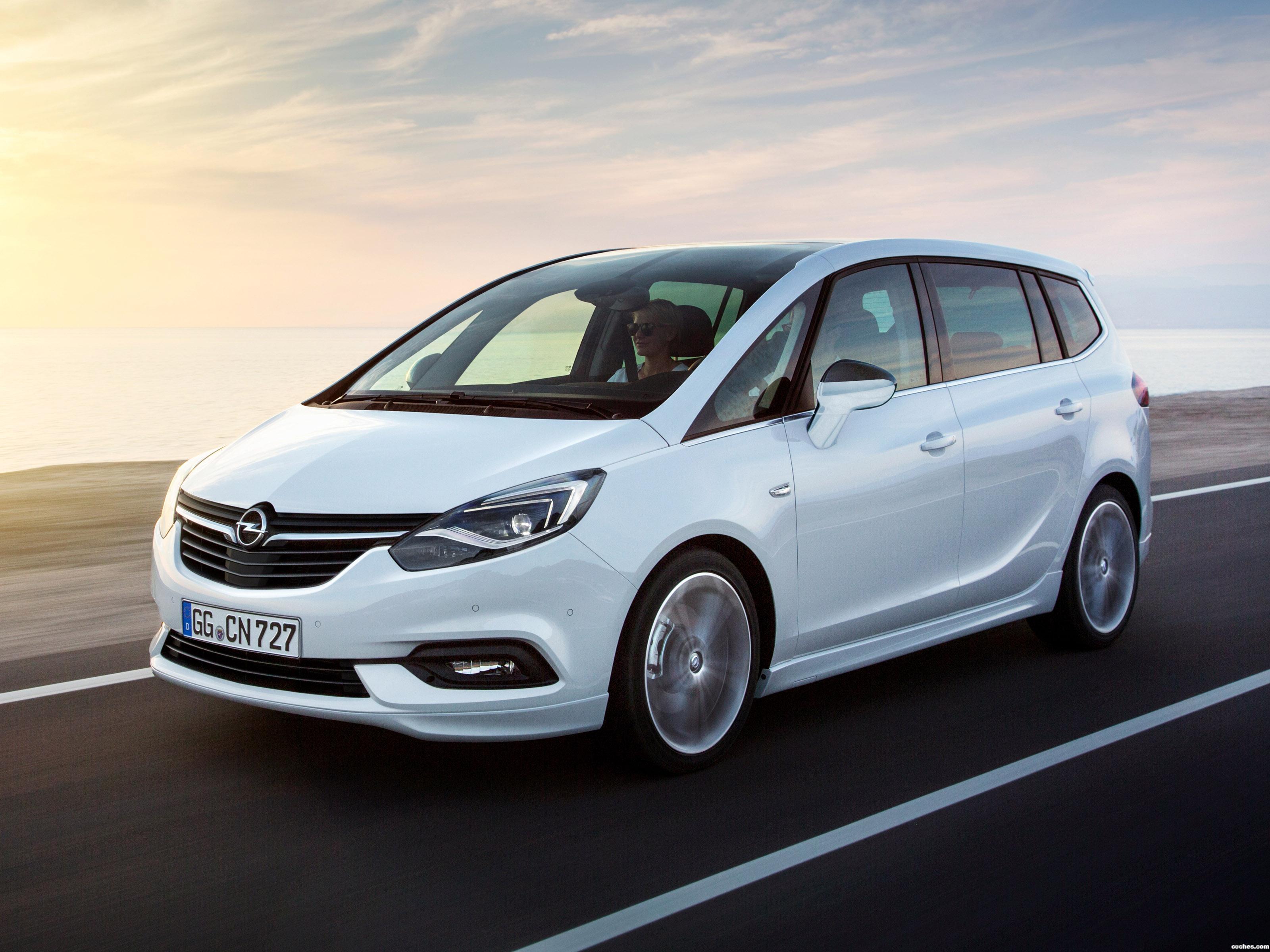 Foto 0 de Opel Zafira 2016