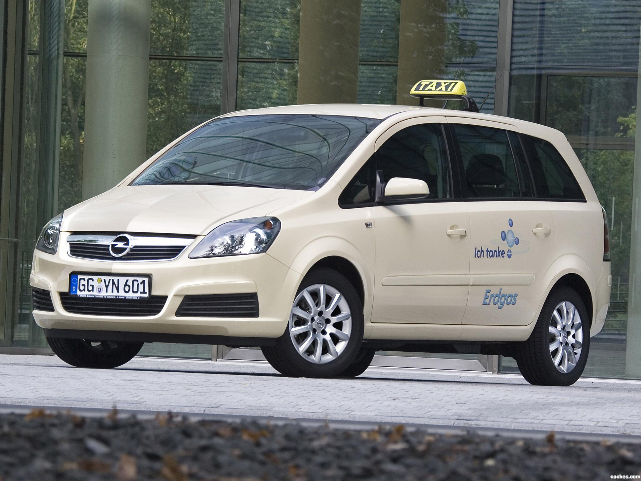 Foto 0 de Opel Zafira CNG Taxi 2005