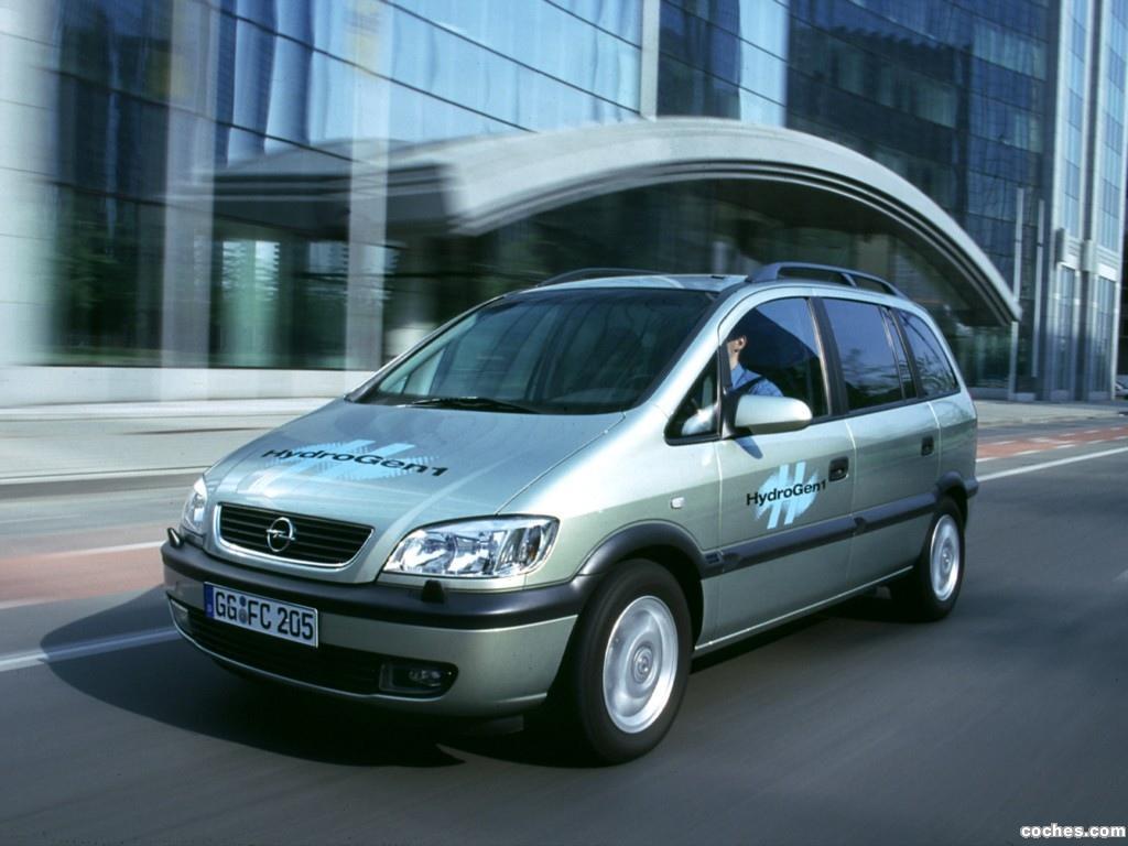 Foto 0 de Opel Zafira Hydrogen 1 Concept 2000