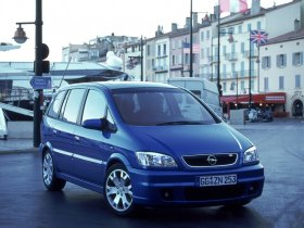 Ver foto 11 de Opel Zafira OPC 2001