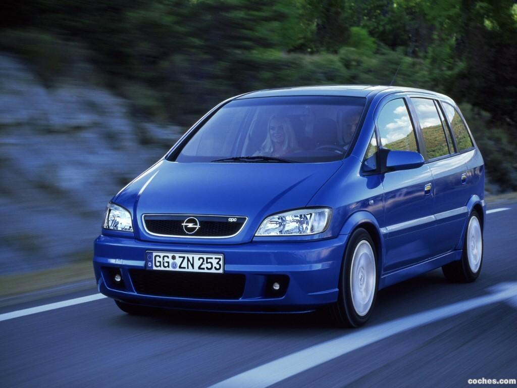 Foto 0 de Opel Zafira OPC 2001