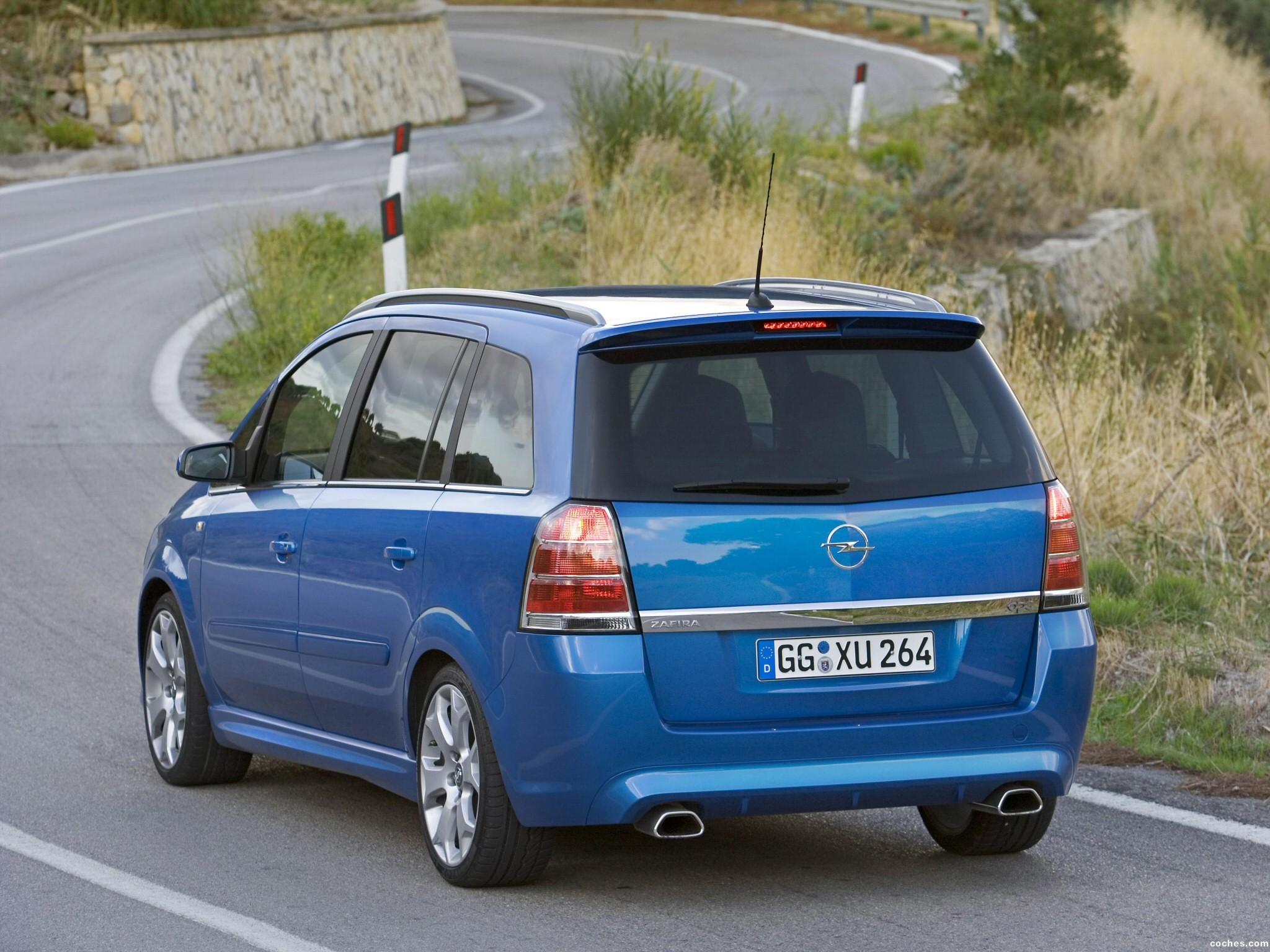 Foto 7 de Opel Zafira OPC 2005