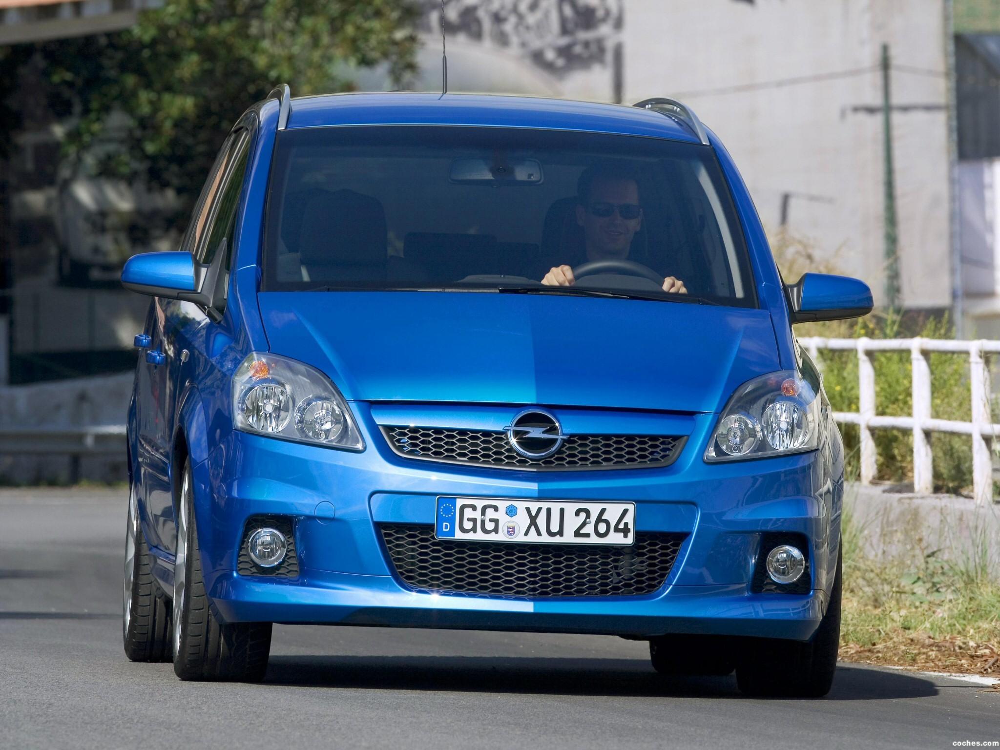 Foto 6 de Opel Zafira OPC 2005