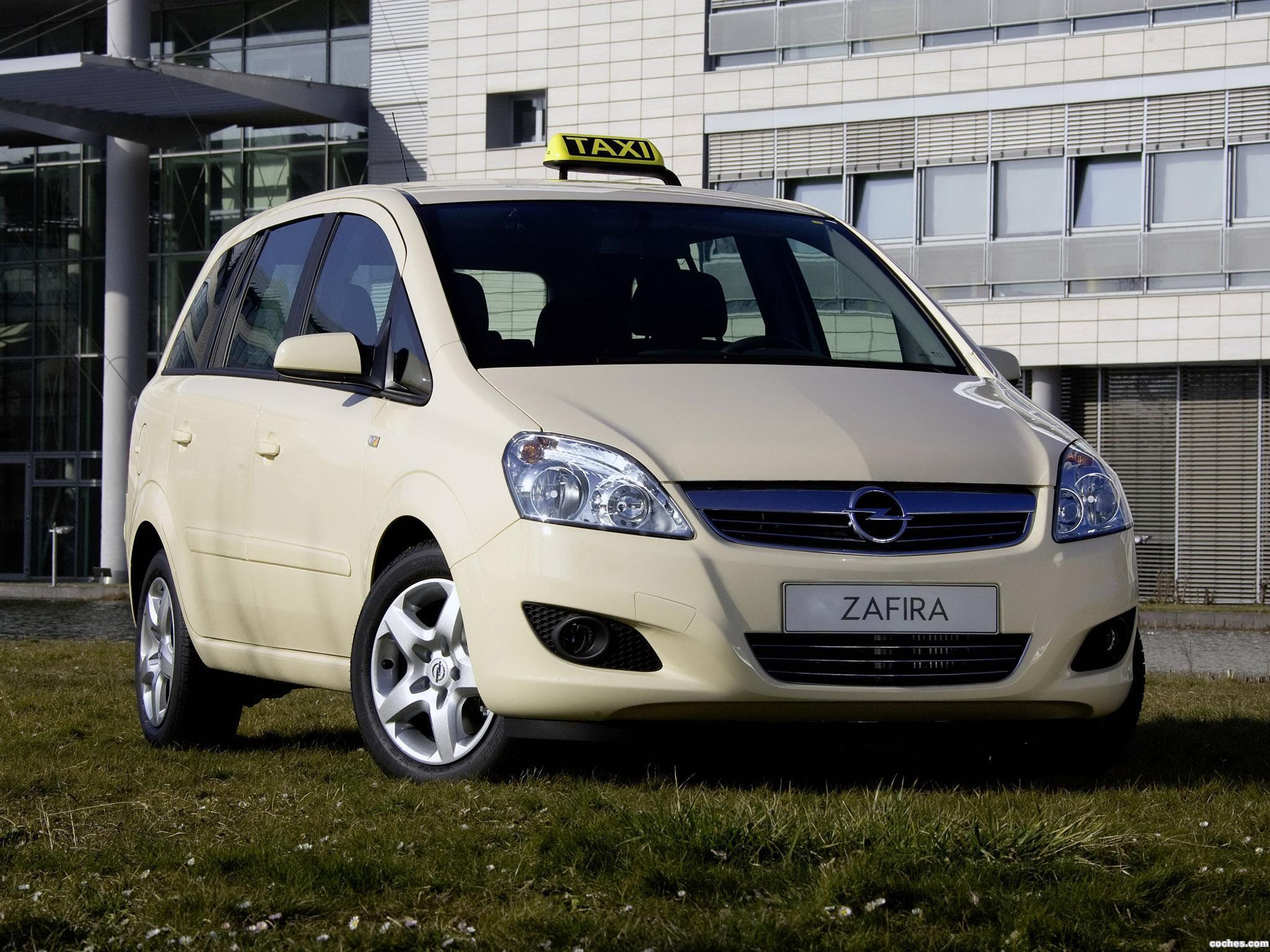 Foto 0 de Opel Zafira TNG Taxi 2009