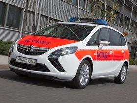 Ver foto 1 de Opel Zafira Tourer Notartzt 2013