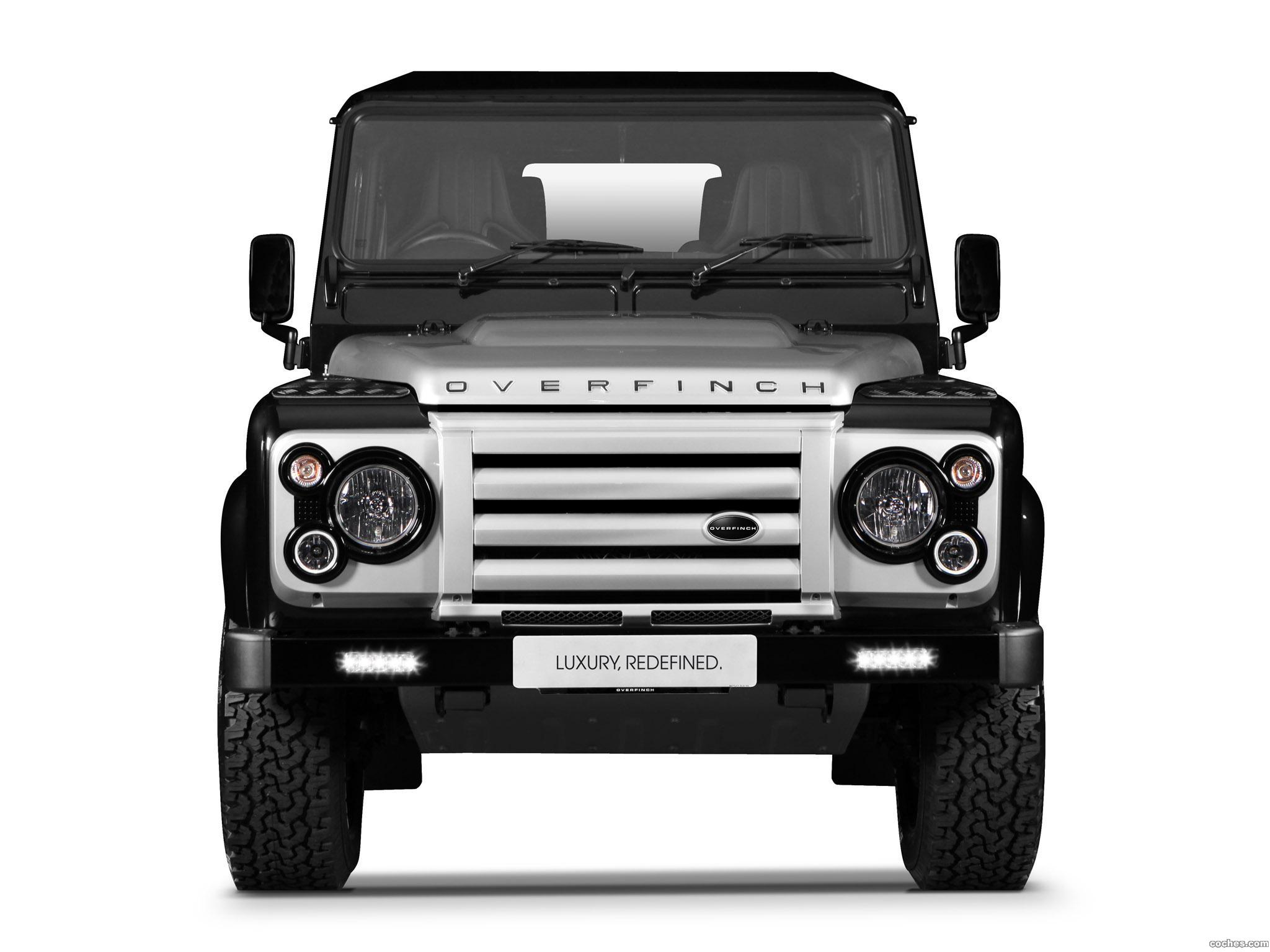 Fotos De Land Rover Overfinch Defender 90 Station Wagon 2012