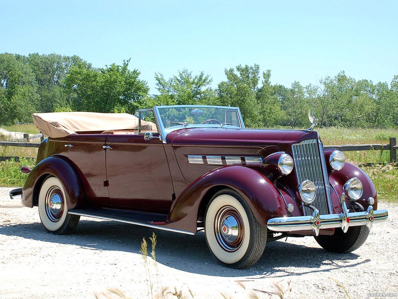 Foto 0 de Packard 120 Convertible Sedan 1937
