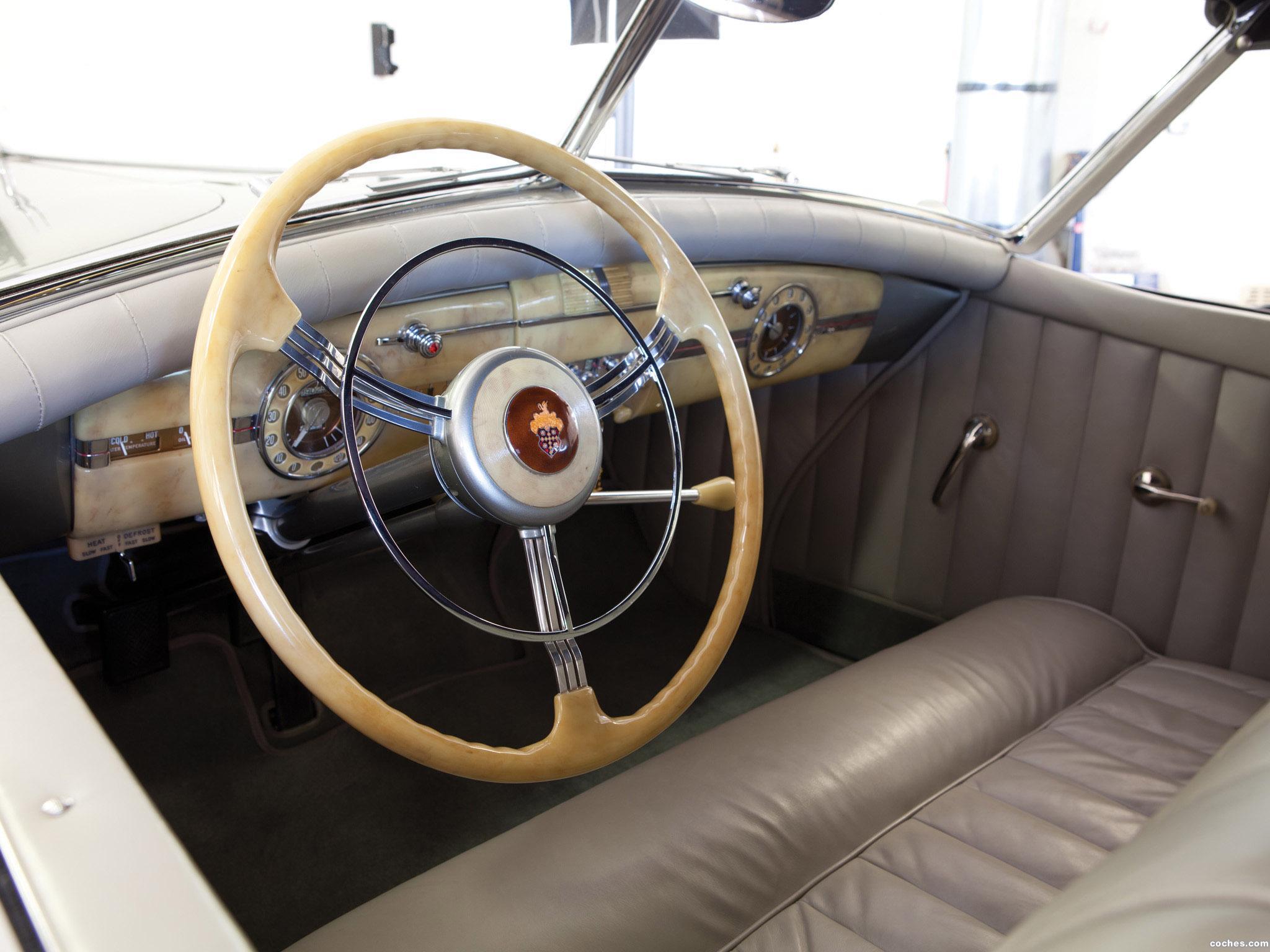Foto 9 de Packard 180 Super Eight Convertible Sedan by Darrin 1940