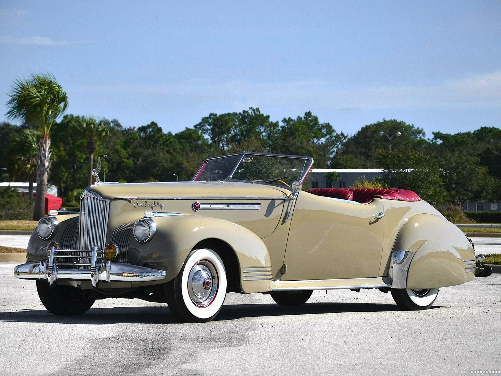 Foto 0 de Packard Super Eight Convertible Victoria by Darrin 1941