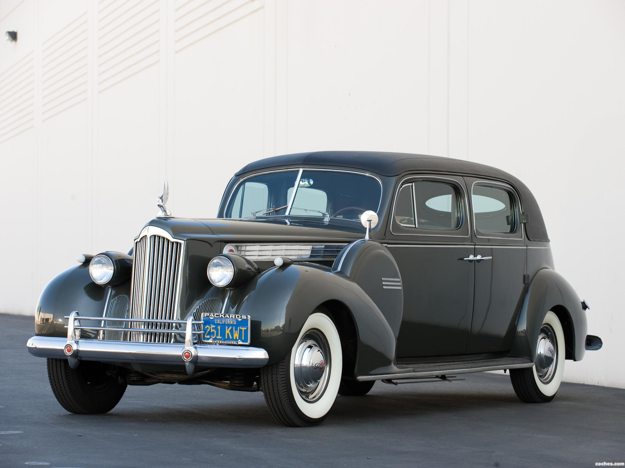 Foto 0 de Packard 180 Super Eight Custom Formal Sedan  1940