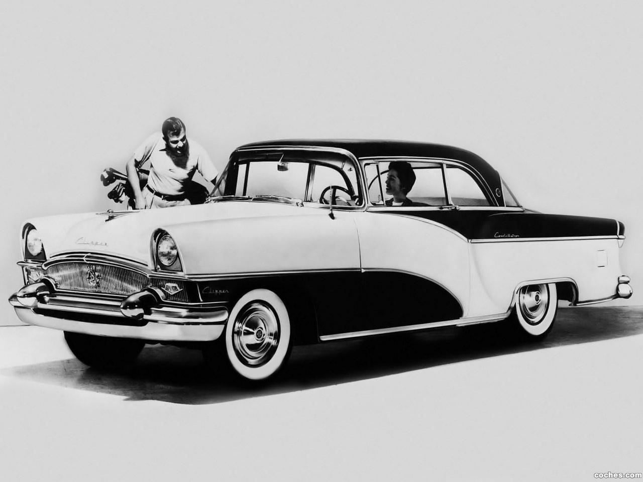 Foto 2 de Packard Clipper Custom Constellation Hardtop Sport Coupe 1955