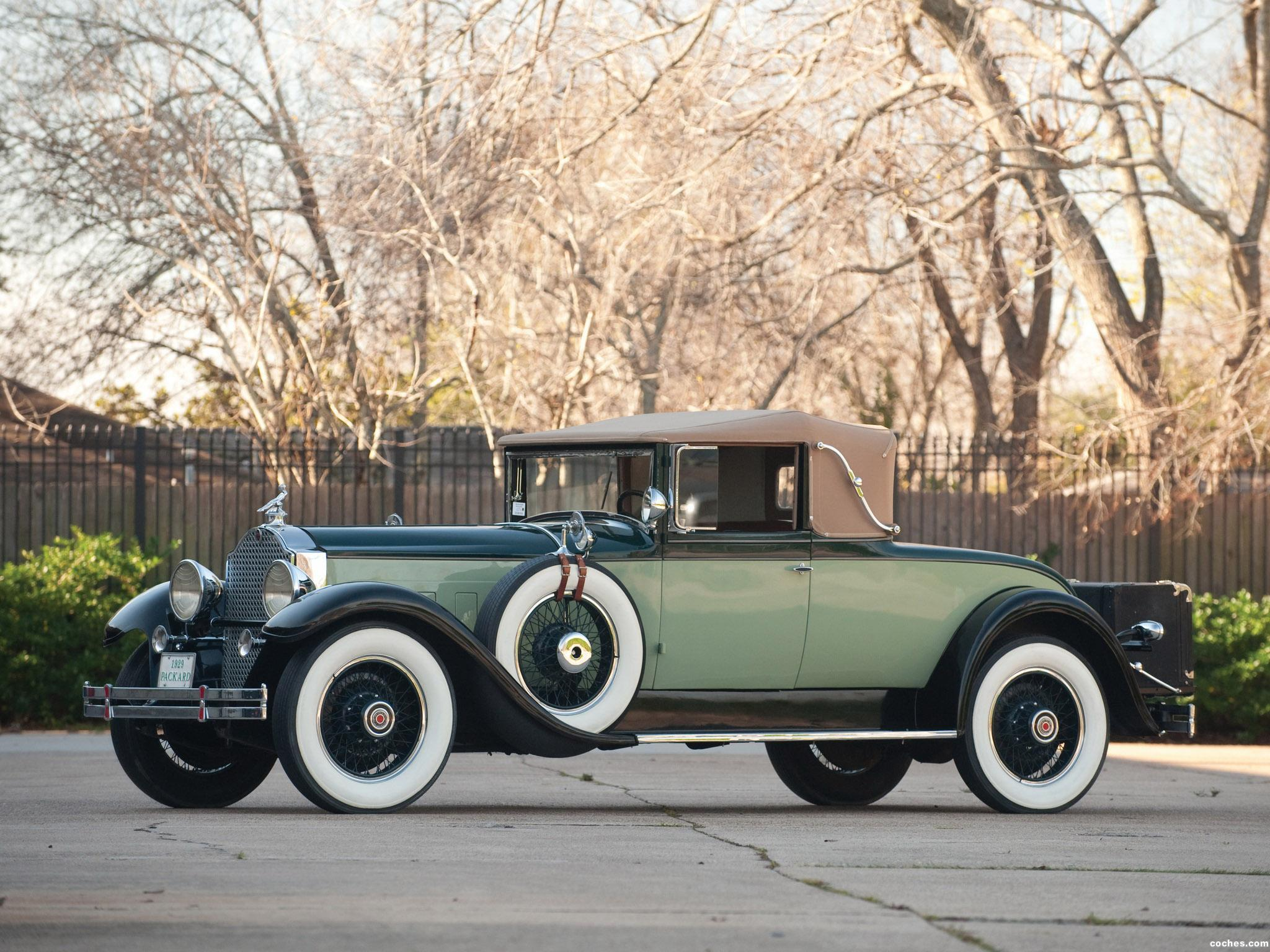 Foto 0 de Packard Custom Eight Convertible Coupe 1929