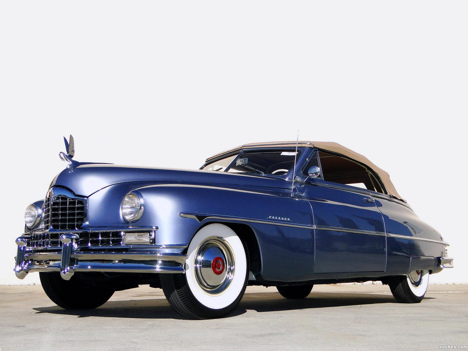 Foto 0 de Packard Custom Eight Convertible Coupe 1950