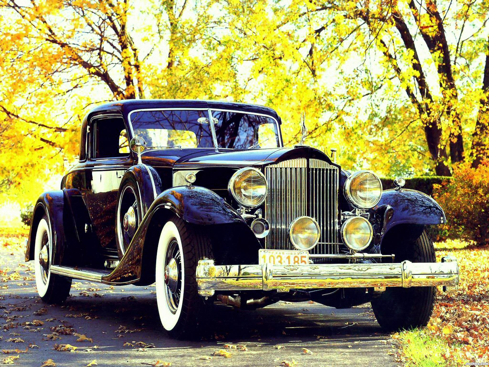 Foto 0 de Packard Custom Twelve Coupe by Dietrich 1933