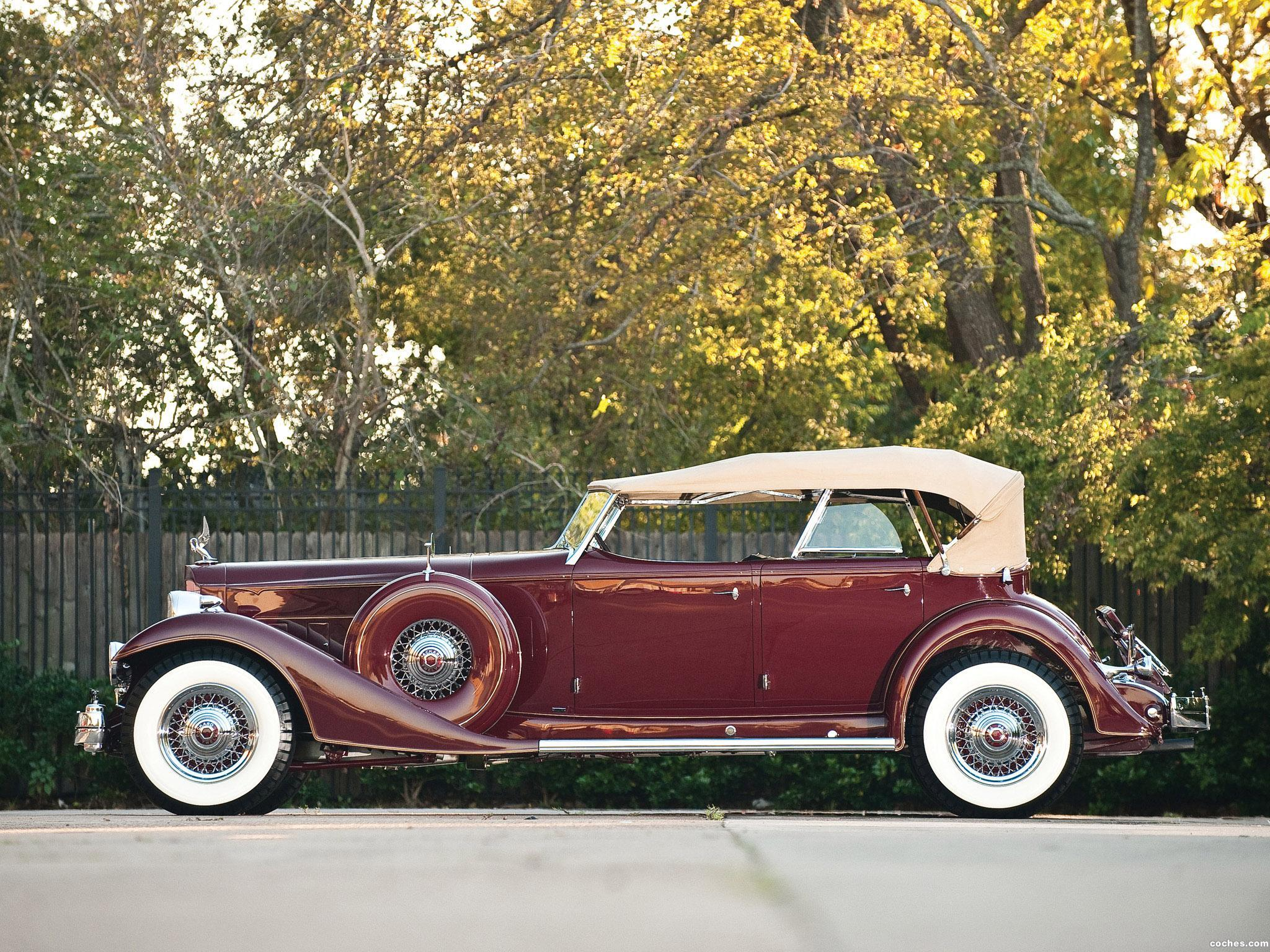 Foto 1 de Packard Custom Twelve Sport Phaeton by Dietrich 1933