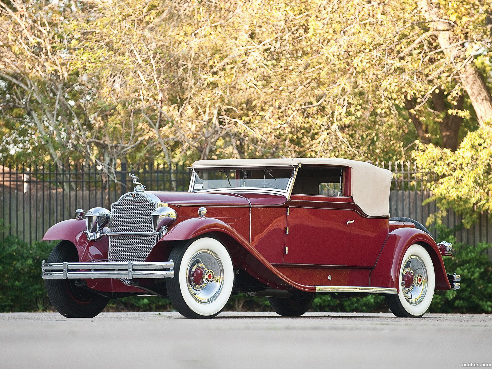 Foto 0 de Packard Deluxe Eight Convertible Victoria by Rollston 1931
