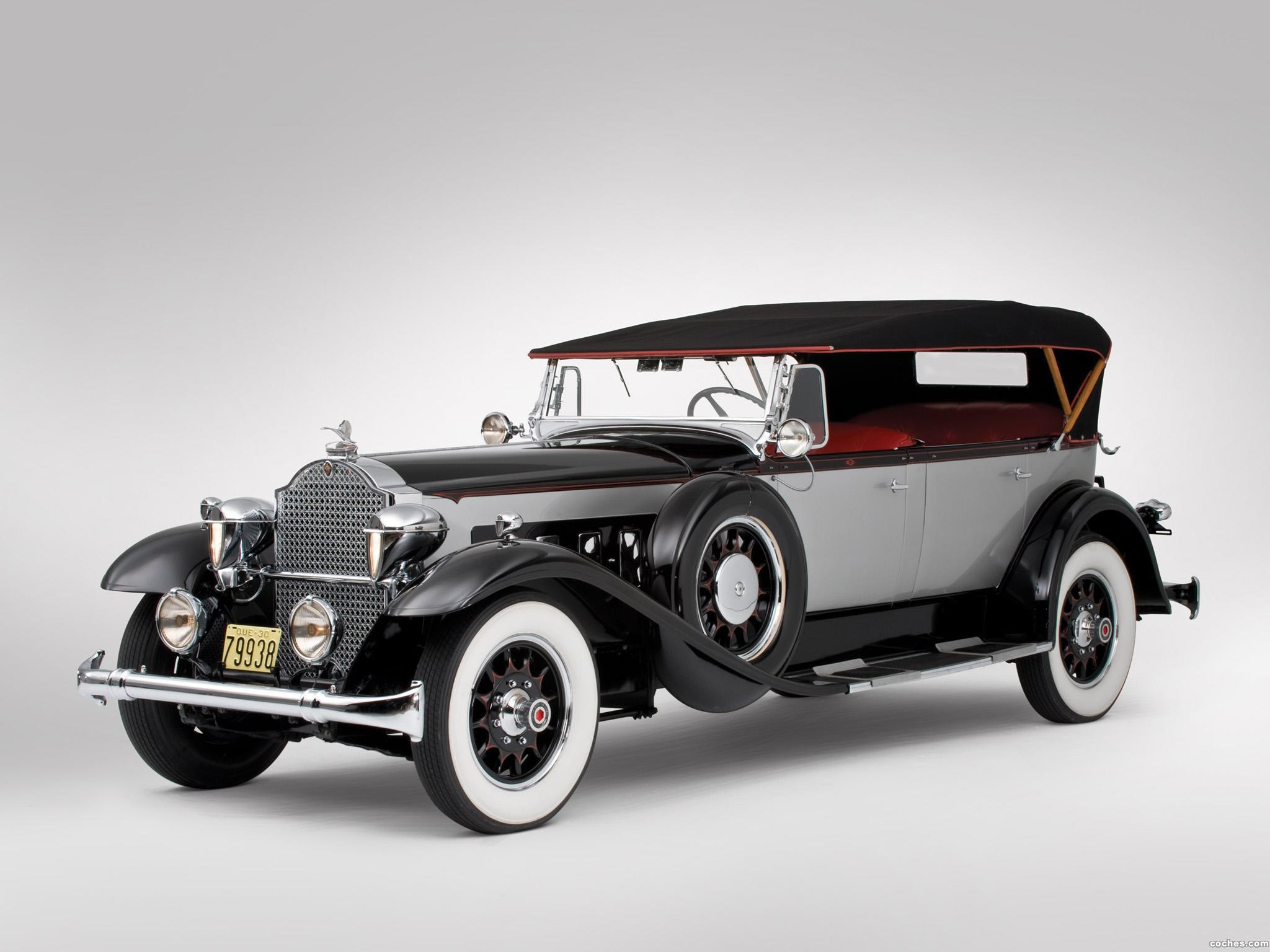 Foto 0 de Packard Deluxe Eight Phaeton 1930