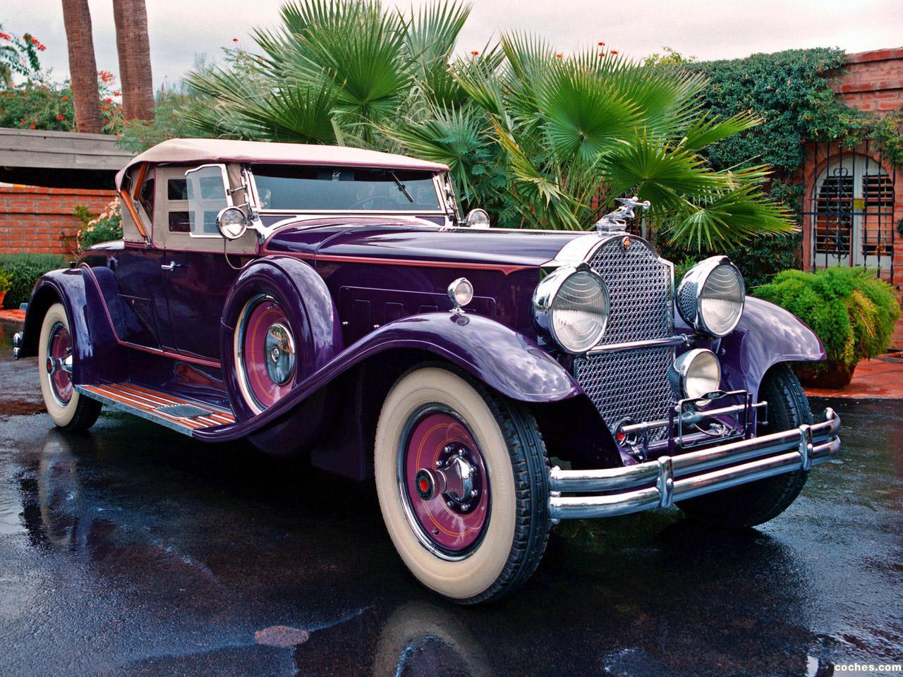 Foto 0 de Packard Deluxe Eight Roadster by LeBaron  1930