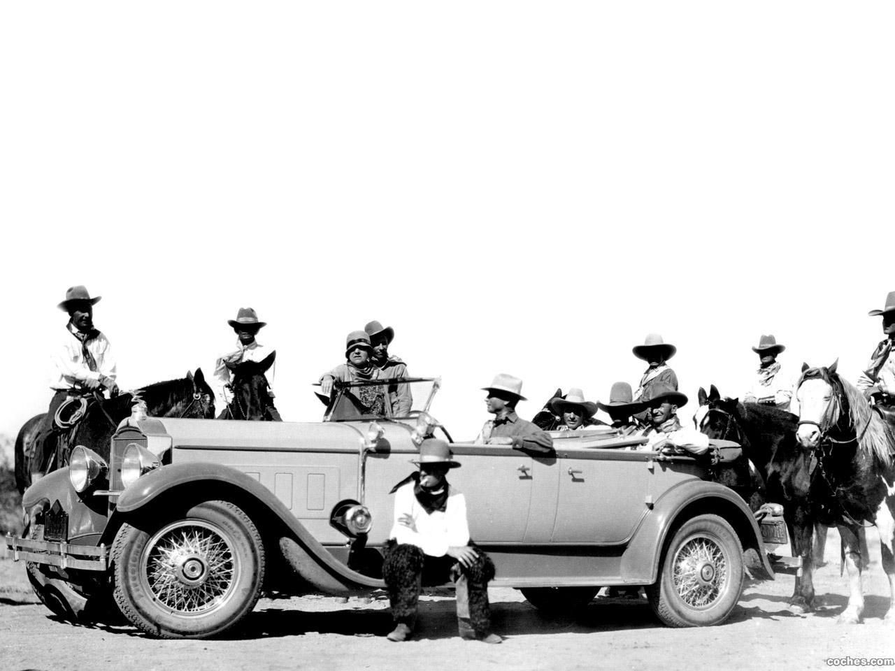 Foto 0 de Packard Deluxe Eight Sport Phaeton 1929