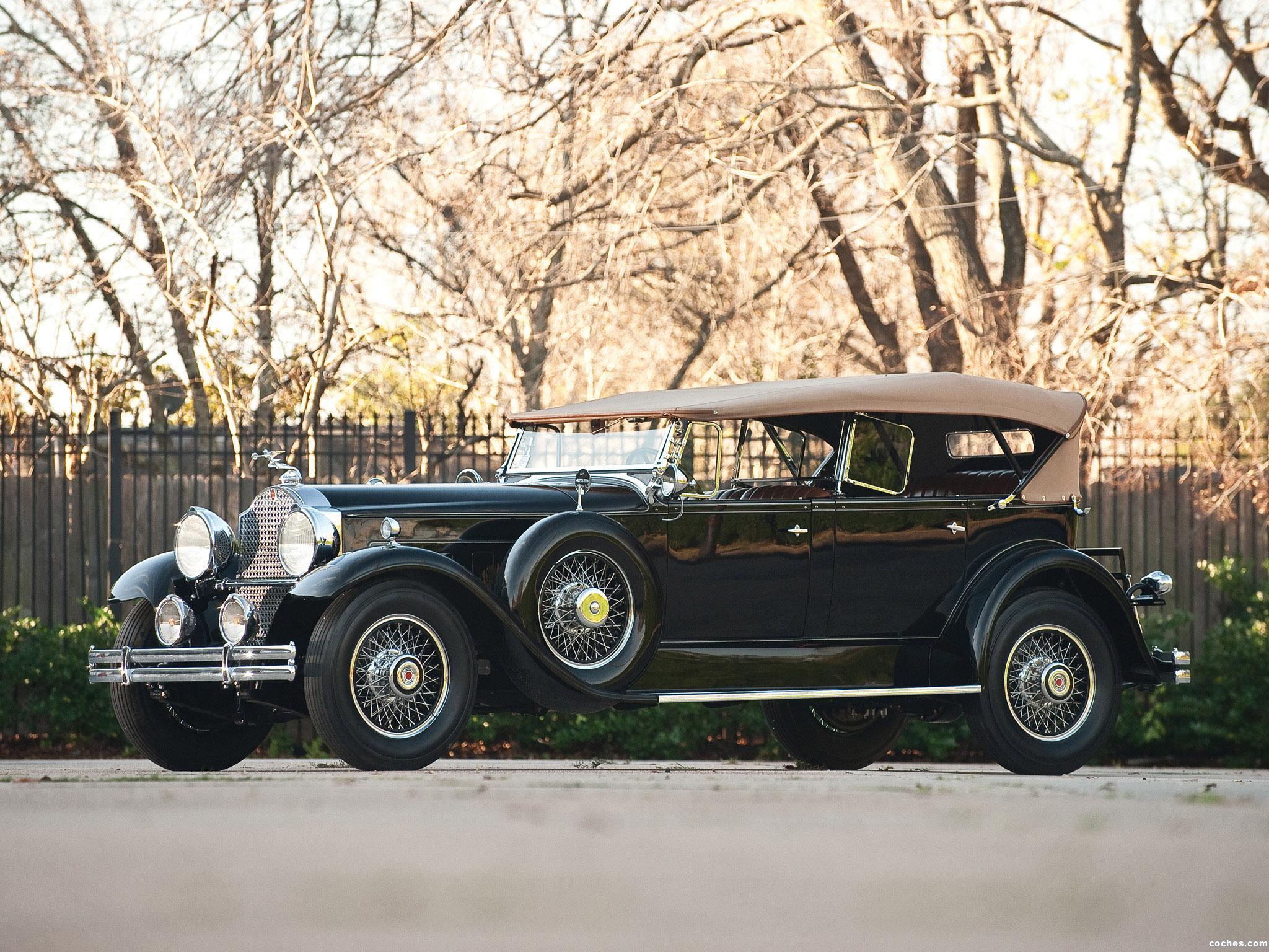 Foto 3 de Packard Deluxe Eight Sport Phaeton 1930