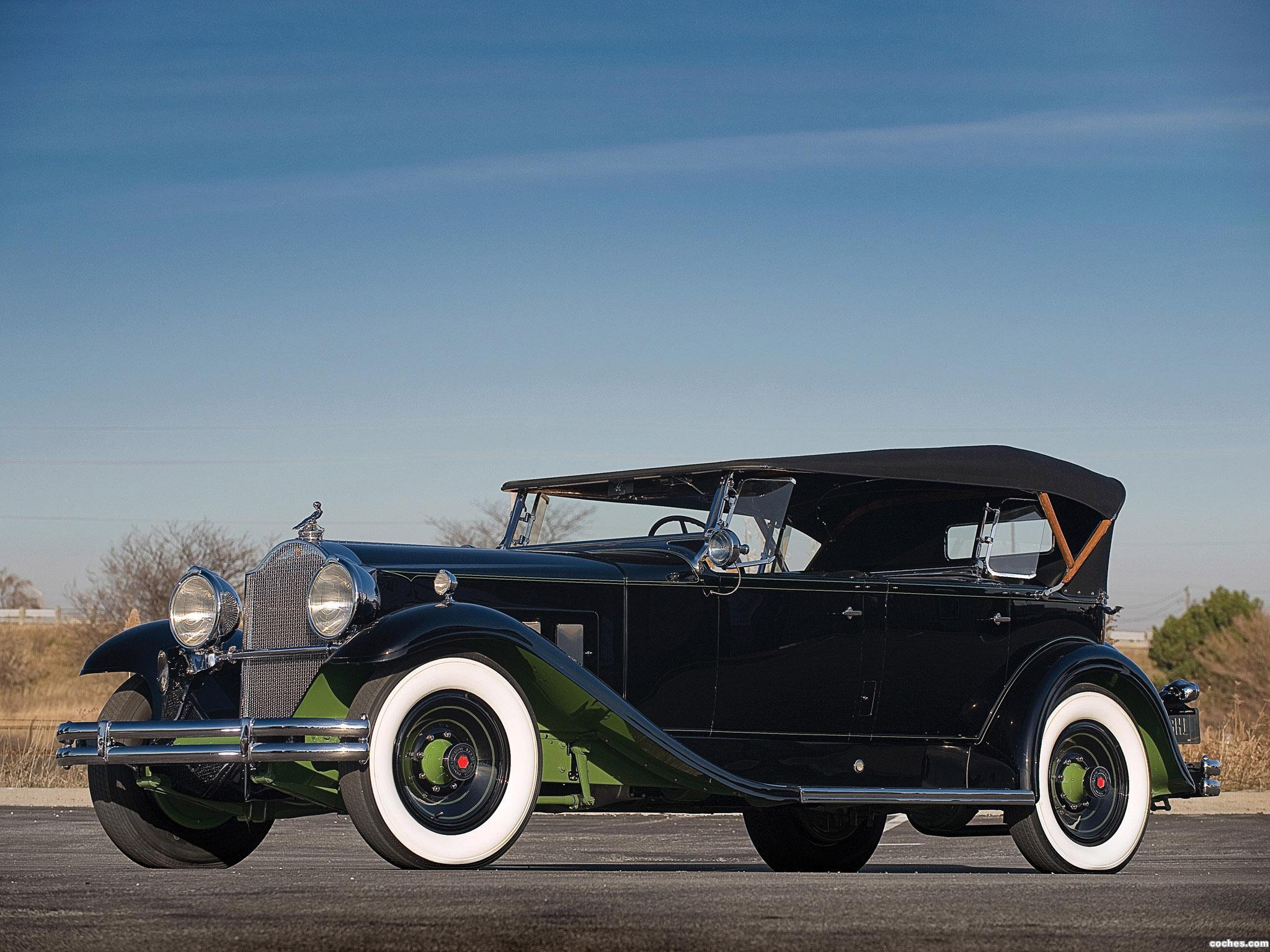 Foto 0 de Packard Deluxe Eight Sport Phaeton 1931