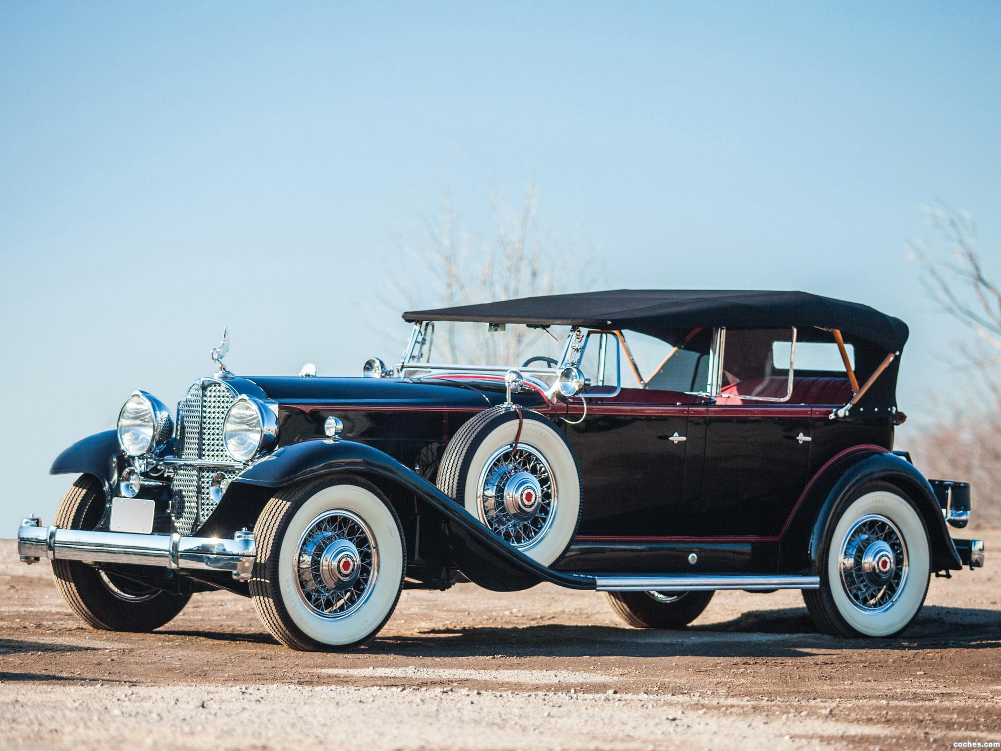 Foto 0 de Packard Deluxe Eight Sport Phaeton 1932