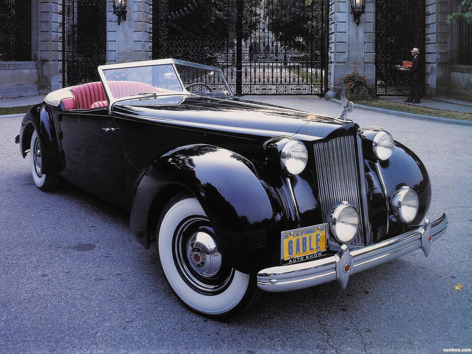 Foto 0 de Packard Eight Convertible Victoria by Darrin 1939