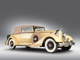 Ver foto 1 de Packard Eight Convertible Victoria 1934