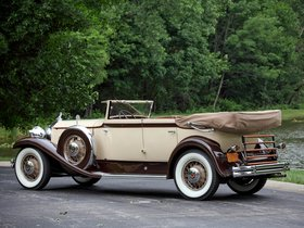 Ver foto 7 de Packard Eight Individual Custom Convertible Seda Dietrich 1931