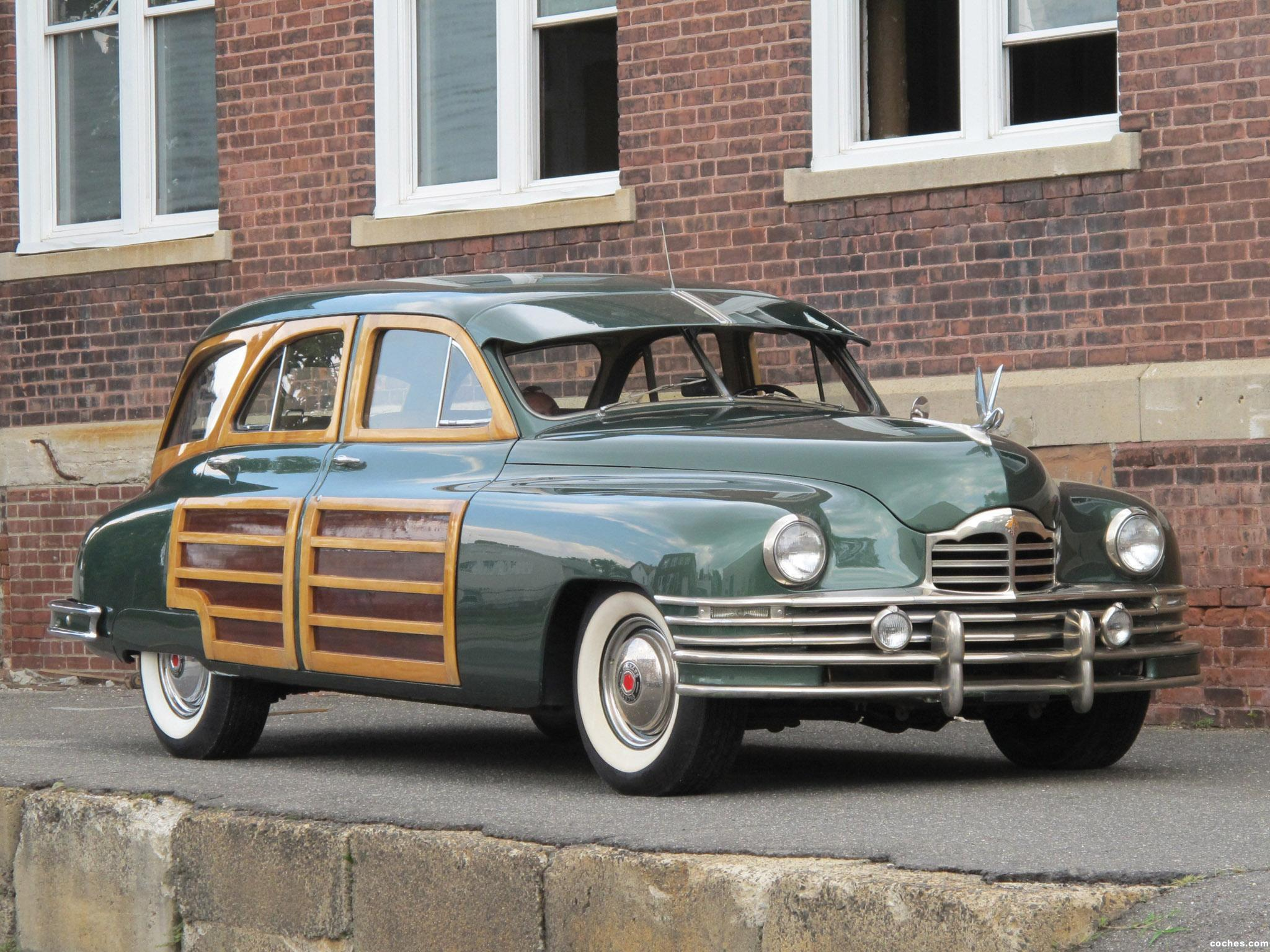 Foto 0 de Packard Eight Station Sedan  1948