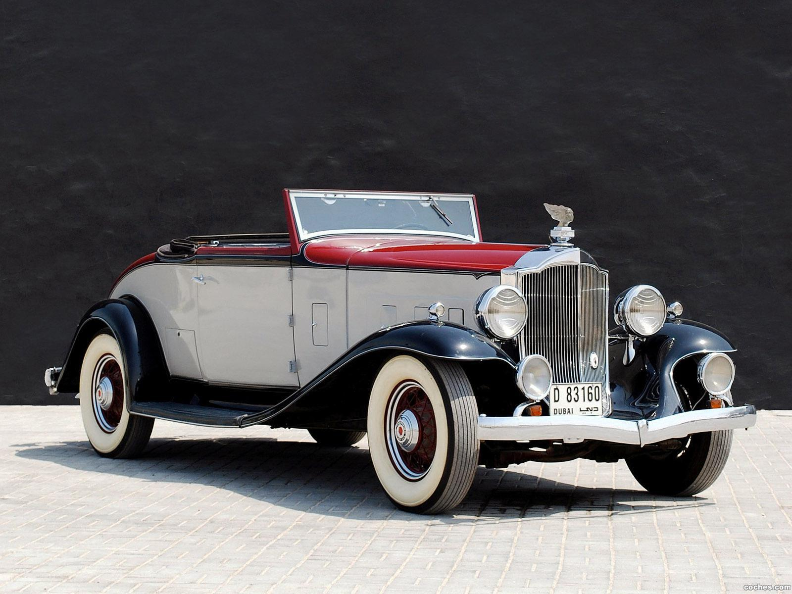 Foto 0 de Packard Light Eight Coupe Roadster 1932