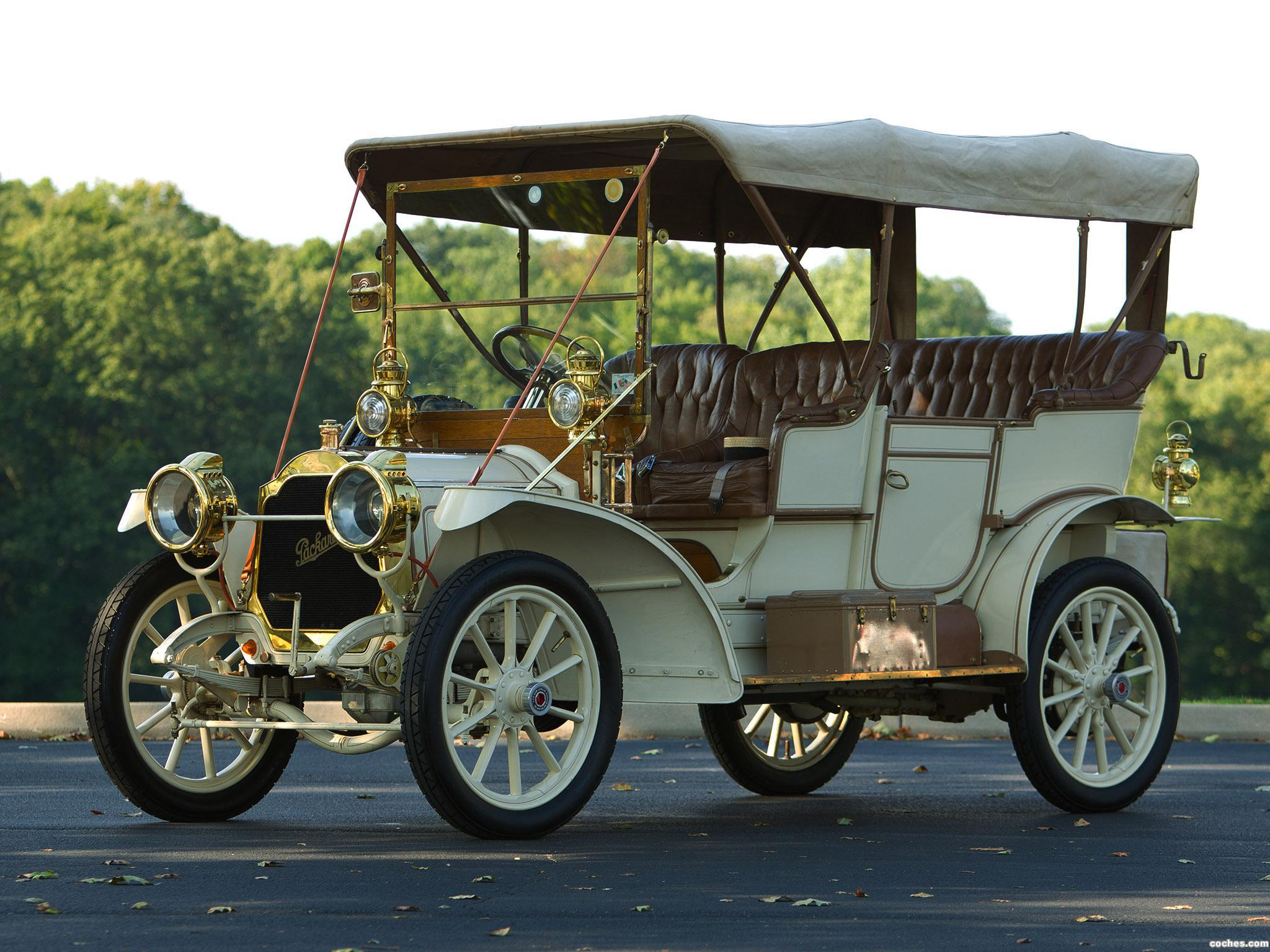Foto 0 de Packard Model 18 Touring  1907