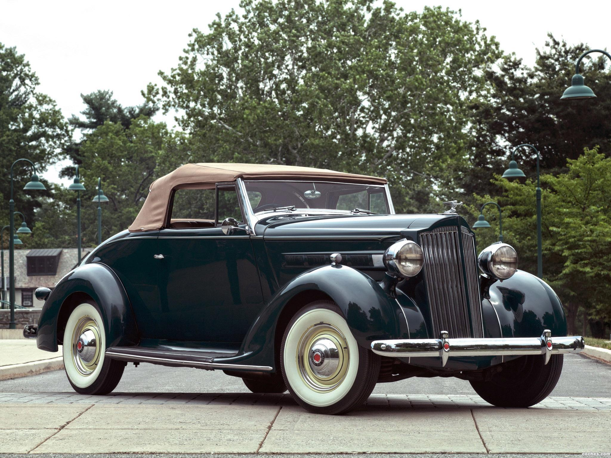 Foto 0 de Packard Six Convertible 115-C 1937