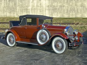 Ver foto 1 de Packard Standard Eight Convertible Coupe 1929