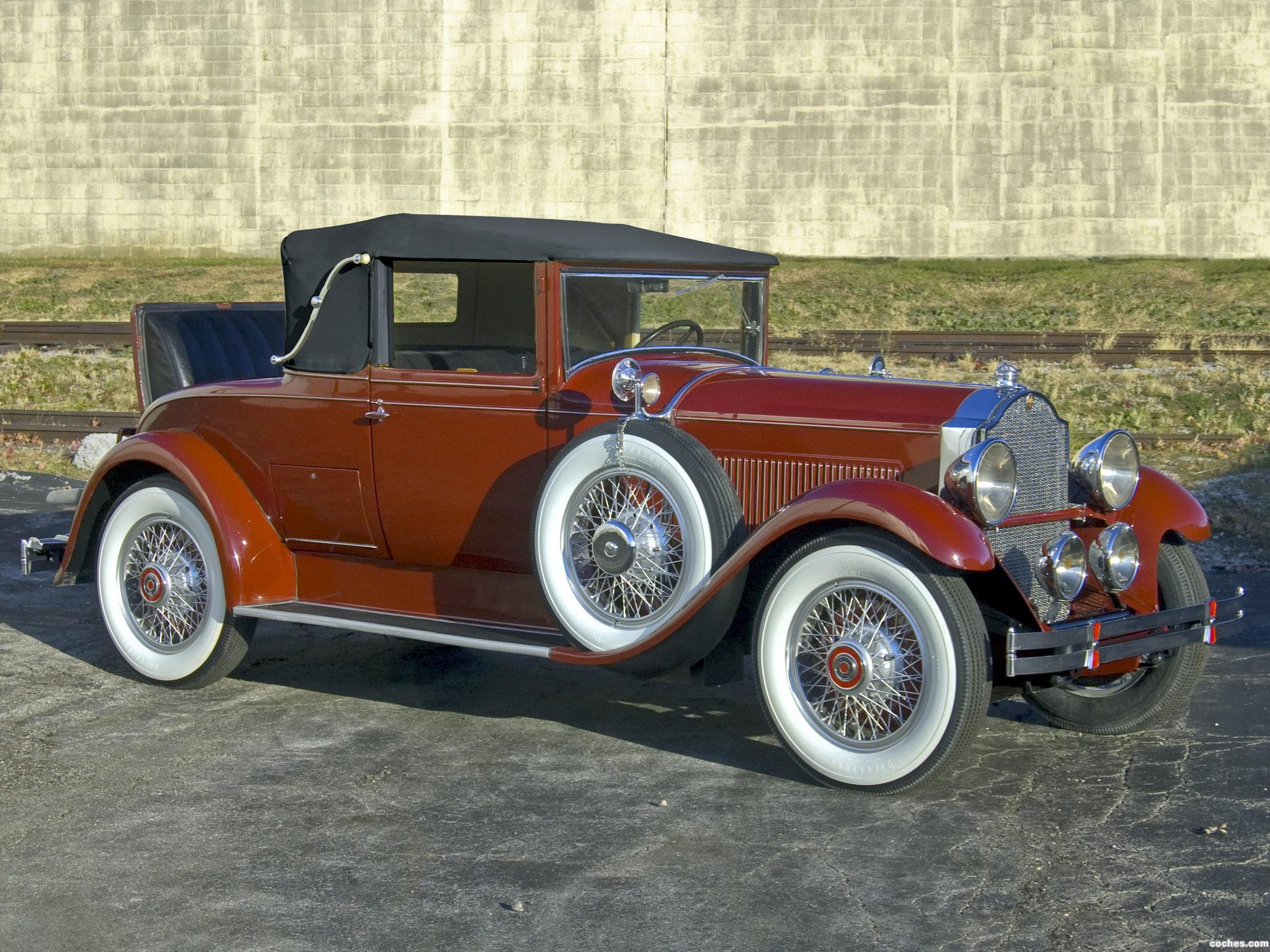 Foto 0 de Packard Standard Eight Convertible Coupe 1929
