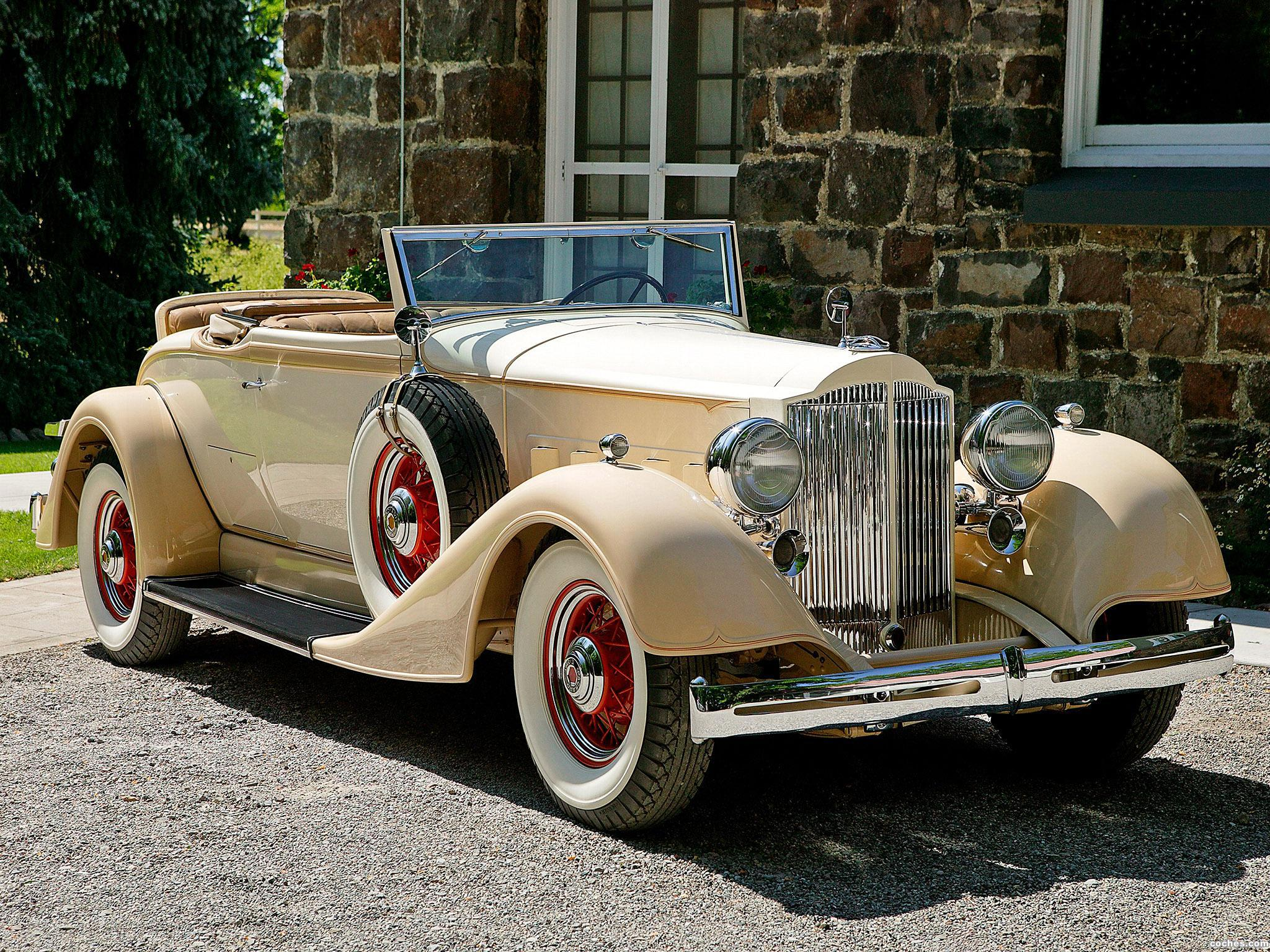 Foto 0 de Packard Standard Eight Coupe Roadster 1934