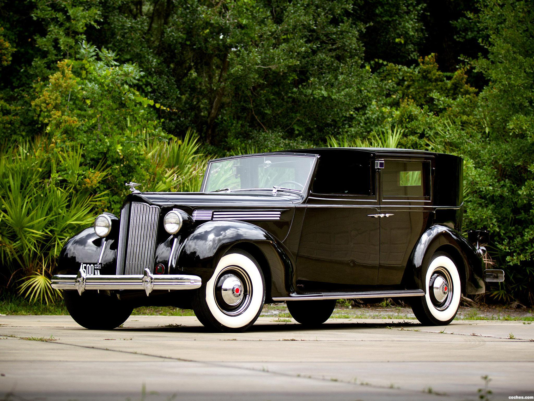 Foto 0 de Packard Super Eight All Weather Panel Brougham by Rollston 1938